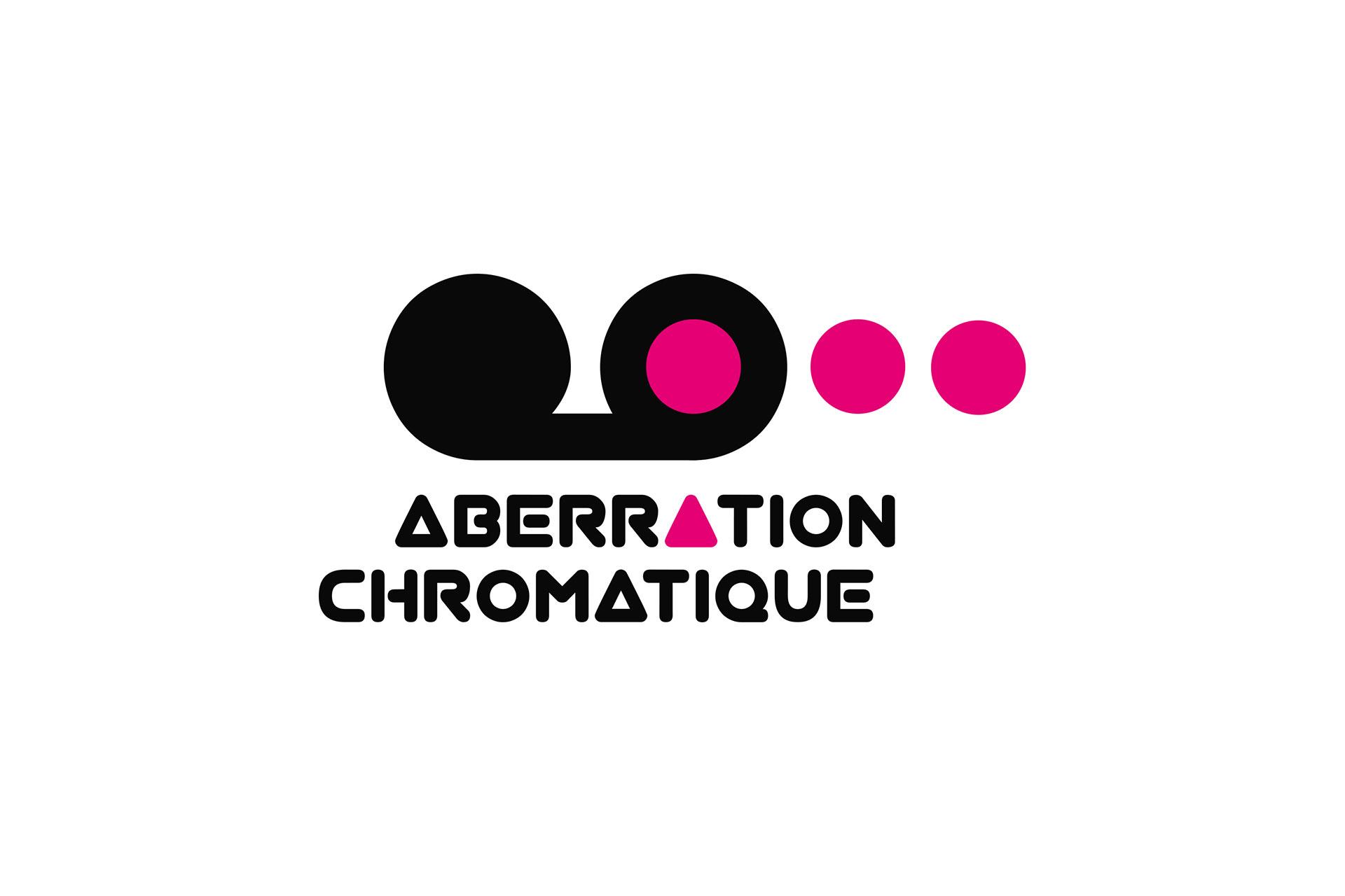 Logotype Aberration Chromatique-Cmondada Design