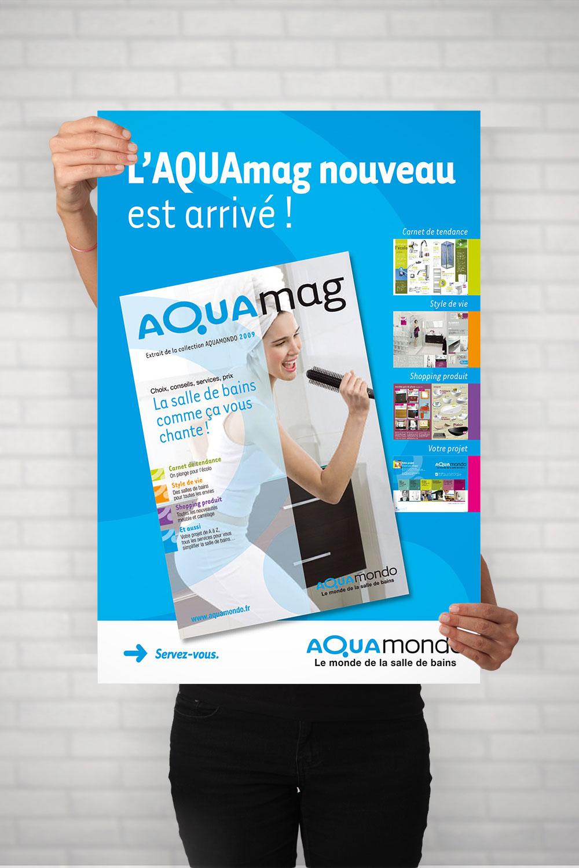 Affiche Aquamondo-Cmondada Design