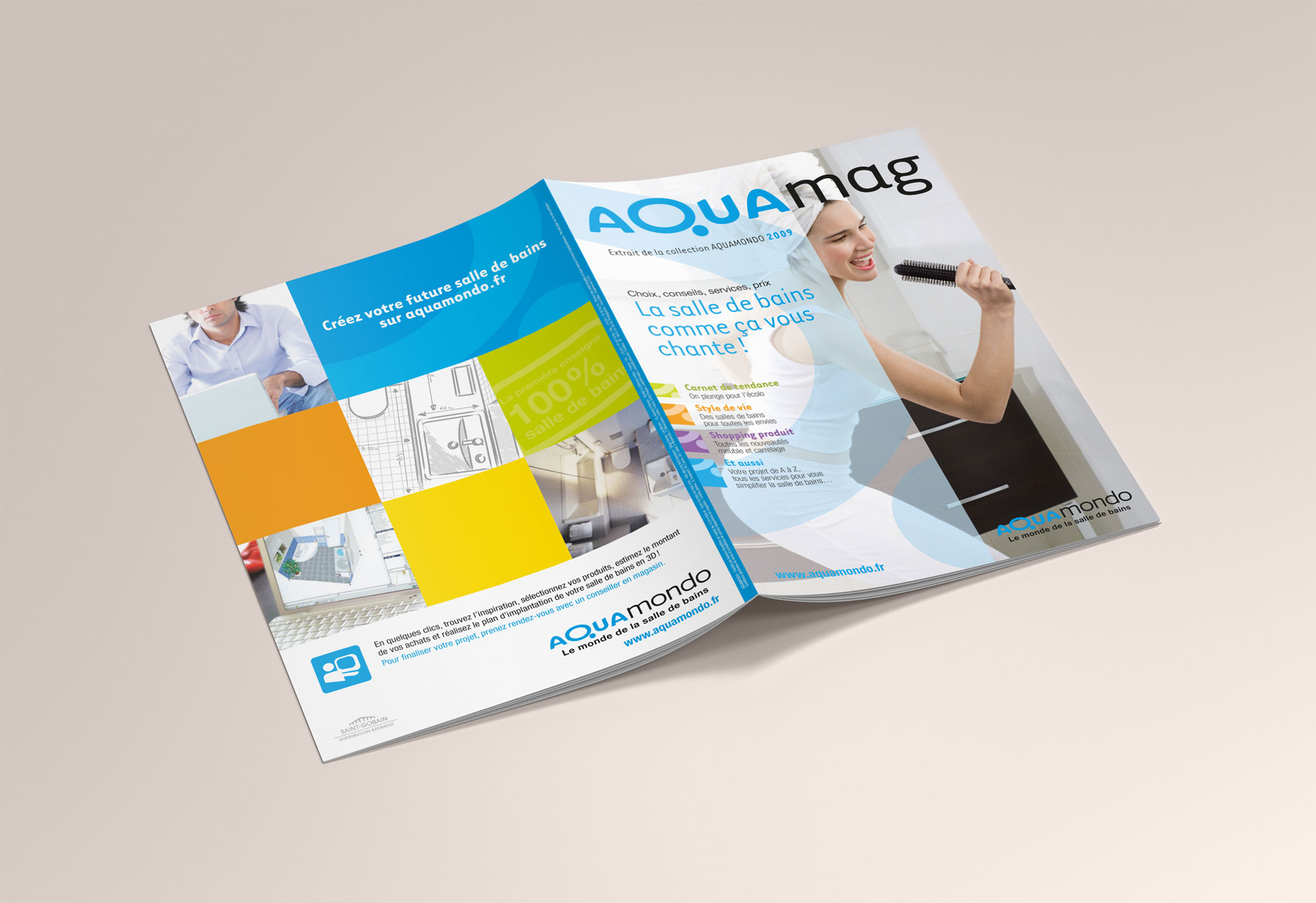Catalogue extérieur Aquamondo-Cmondada Design