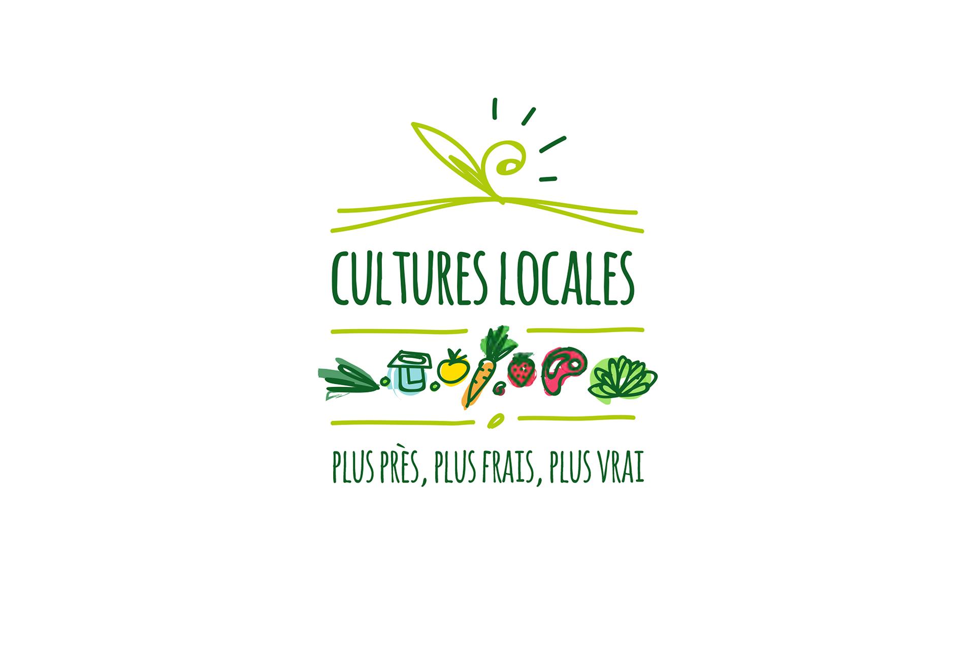 Logotype Cultures Locales-Cmondada Design