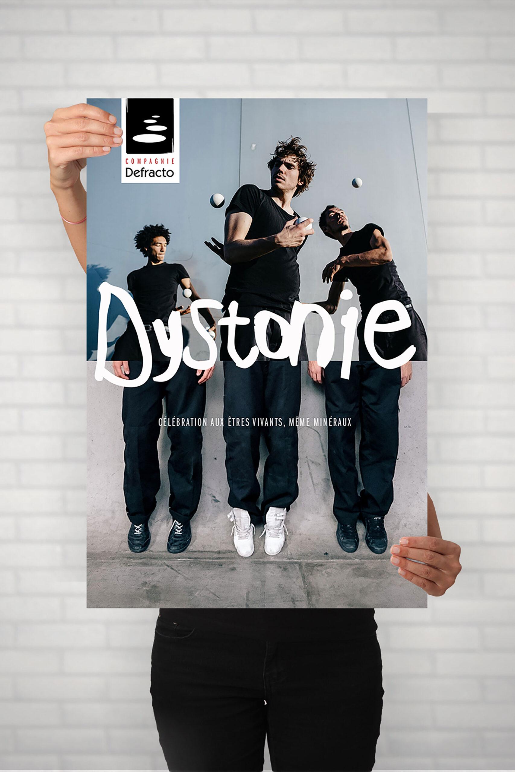Affiche Defracto-Dystonie-Cmondada Design