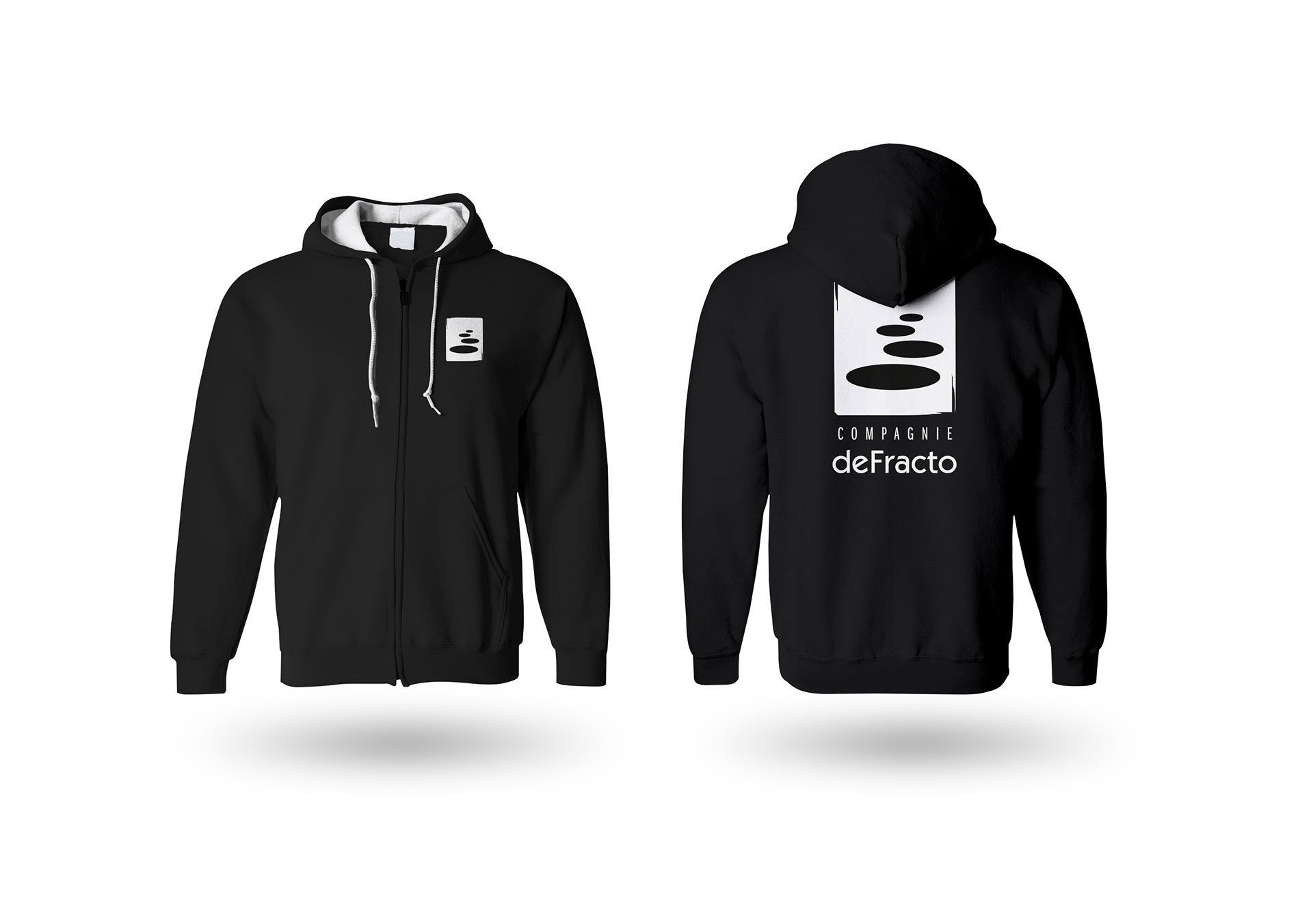 Sweat capuche Defracto-Cmondada Design