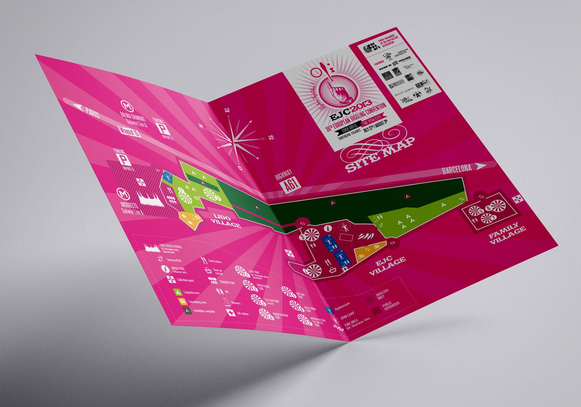 Dépliant plan du site EJC2013-Cmondada Design