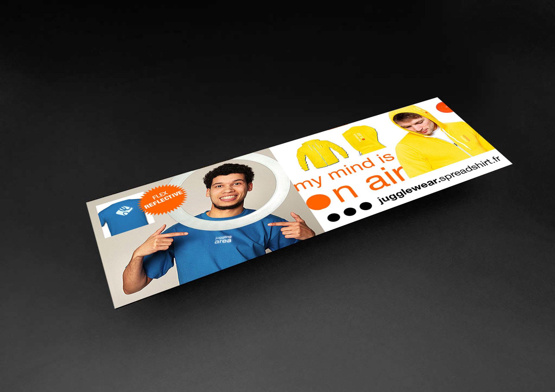 Flyer juggle - Cmondada Design