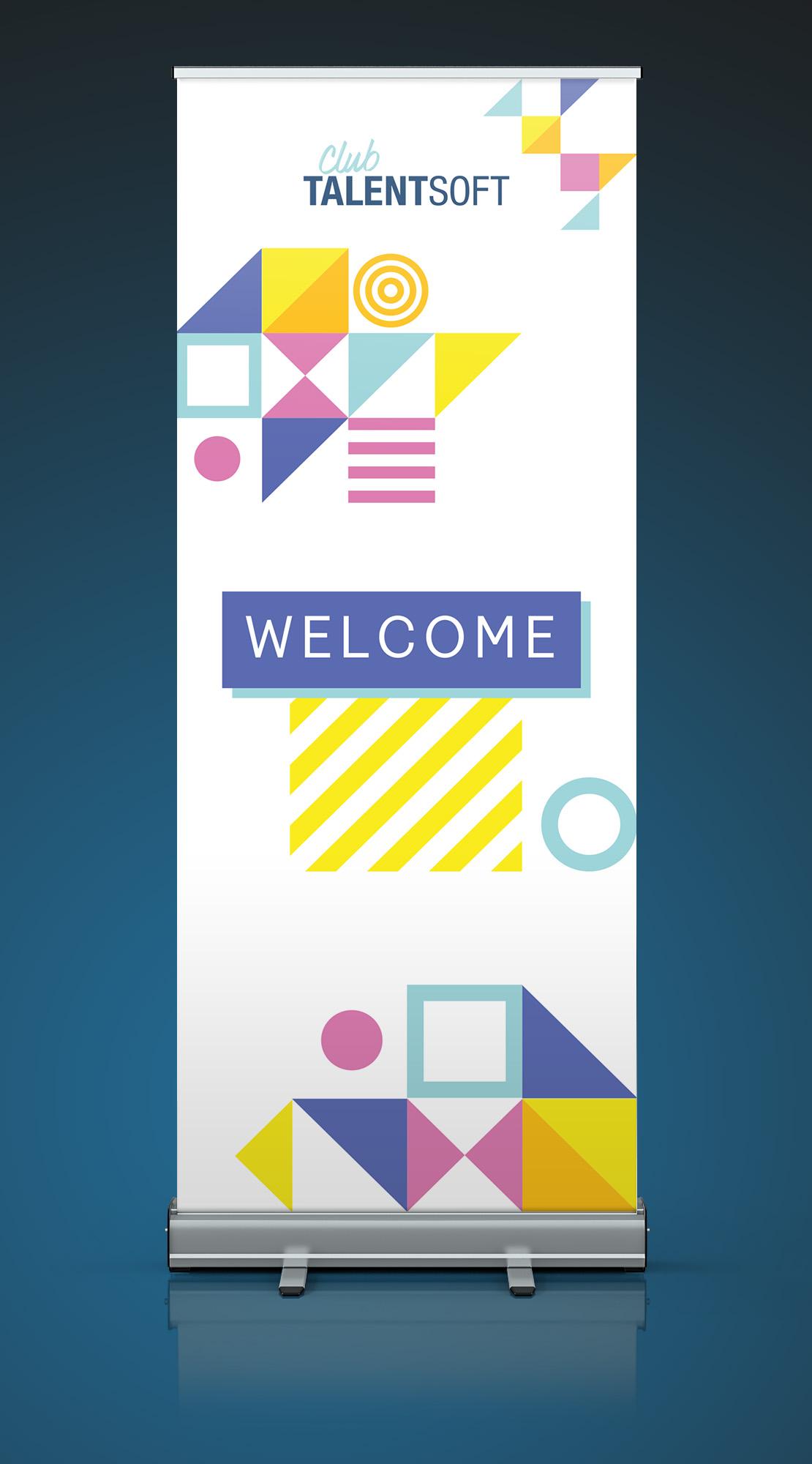 Rollup Club Talentsoft - Cmondada Design