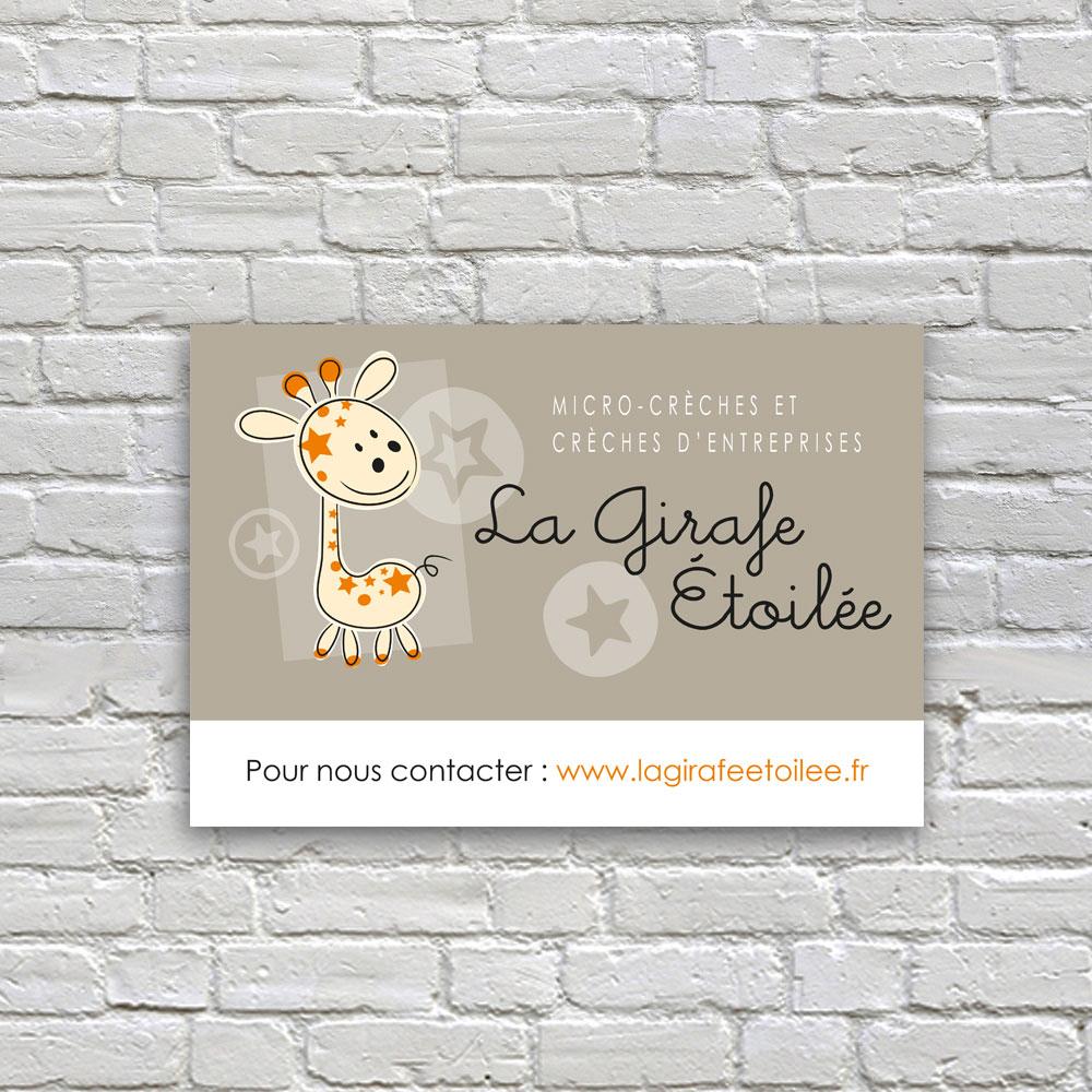 Plaque Dibon La Girafe Étoilée - Cmondada Design