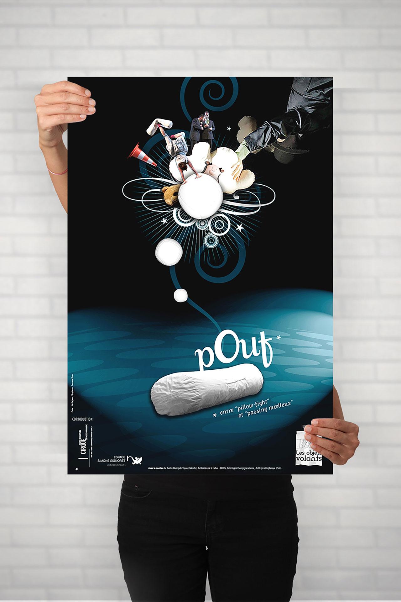 Affiche Liaison Pouf-Cmondada Design