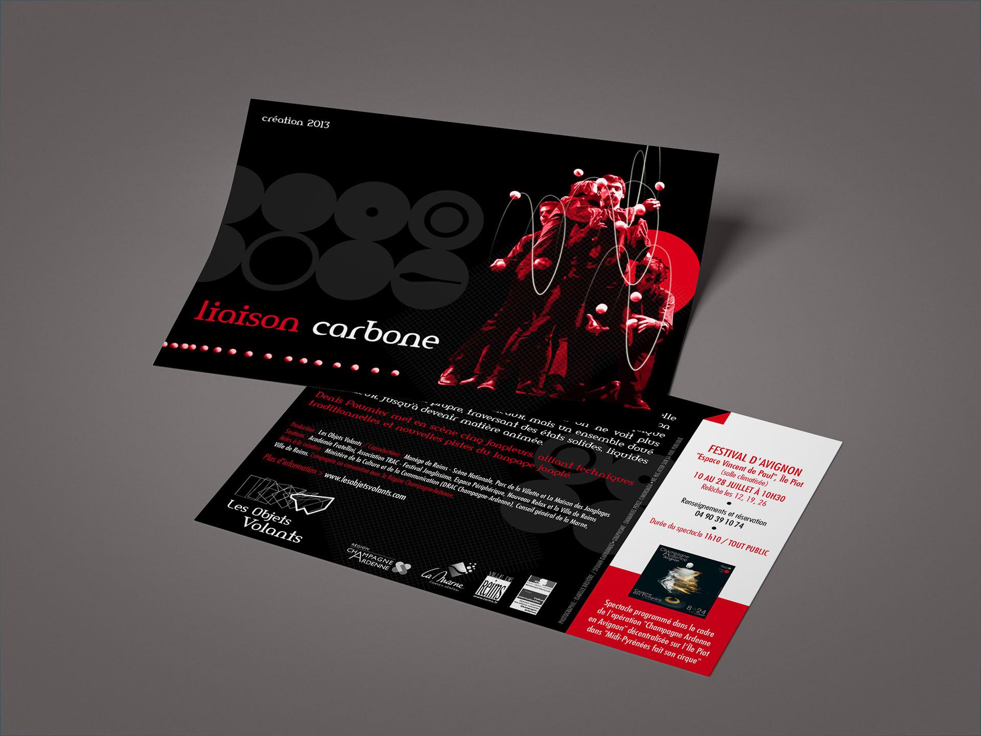 Flyer Liaison Carbone-Cmondada Design
