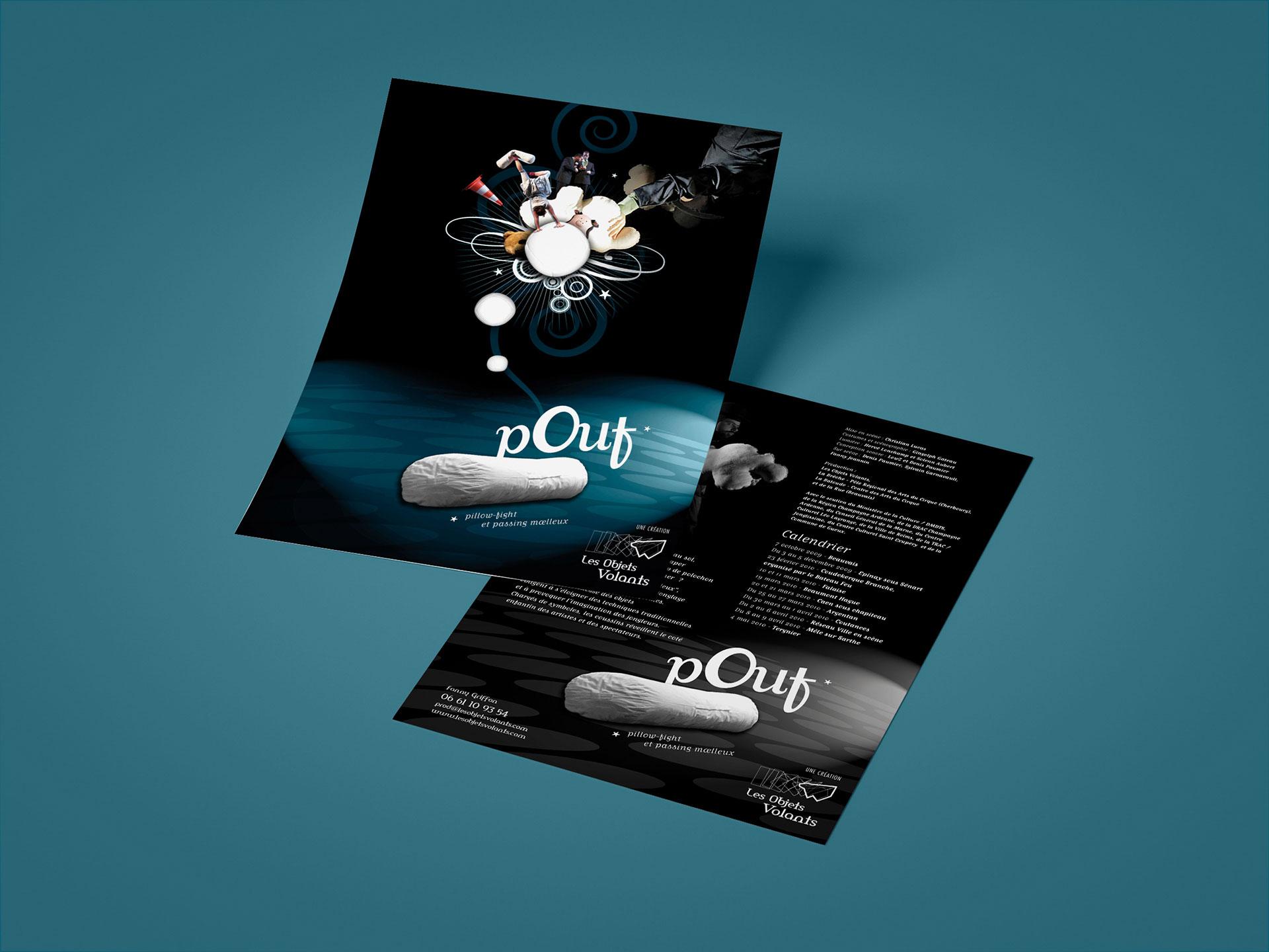 Flyer Pouf-Cmondada Design