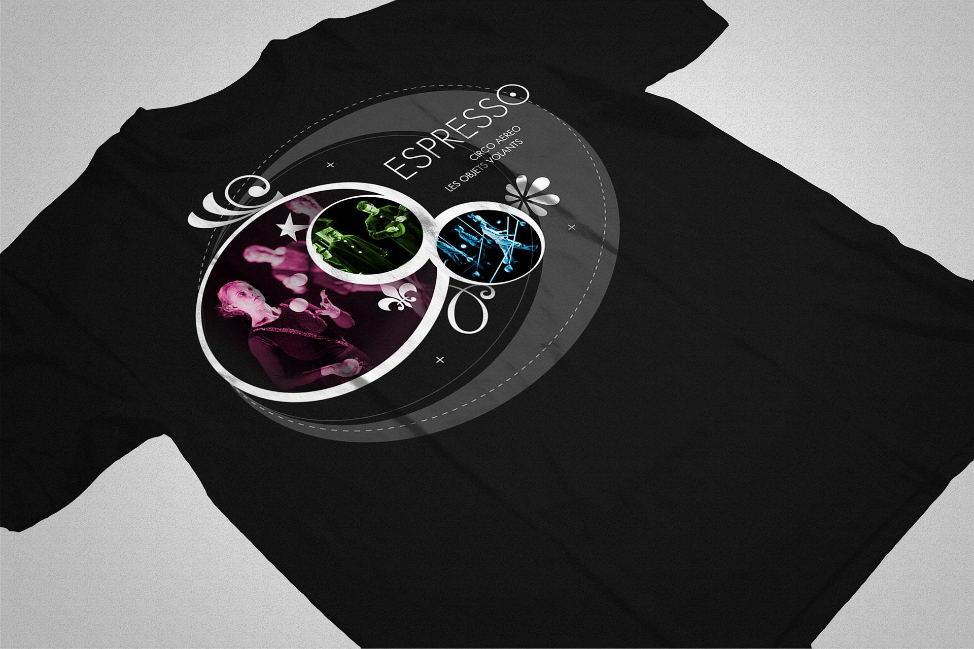 T-shirt Espresso- Les Objets Volants-Cmondada Design