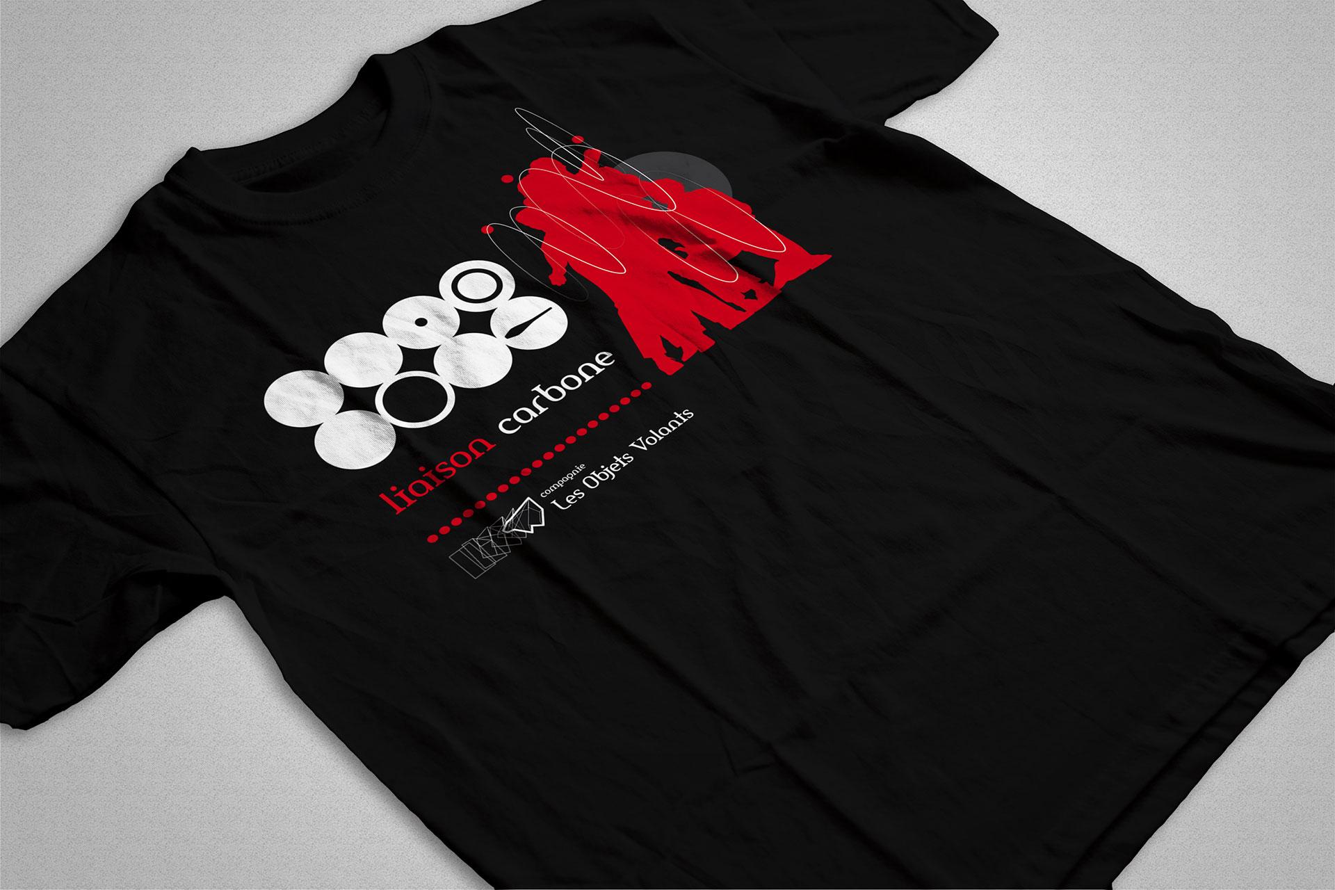 T-shirt Liaison Carbone- Les Objets Volants-Cmondada Design