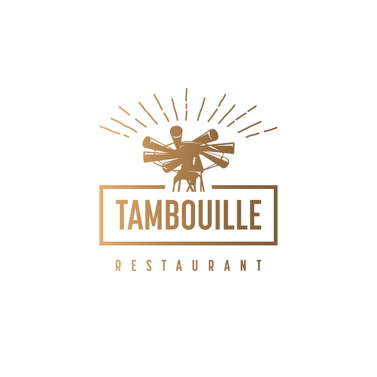 Logo Tambouille restaurant-cover CmondadaDesign