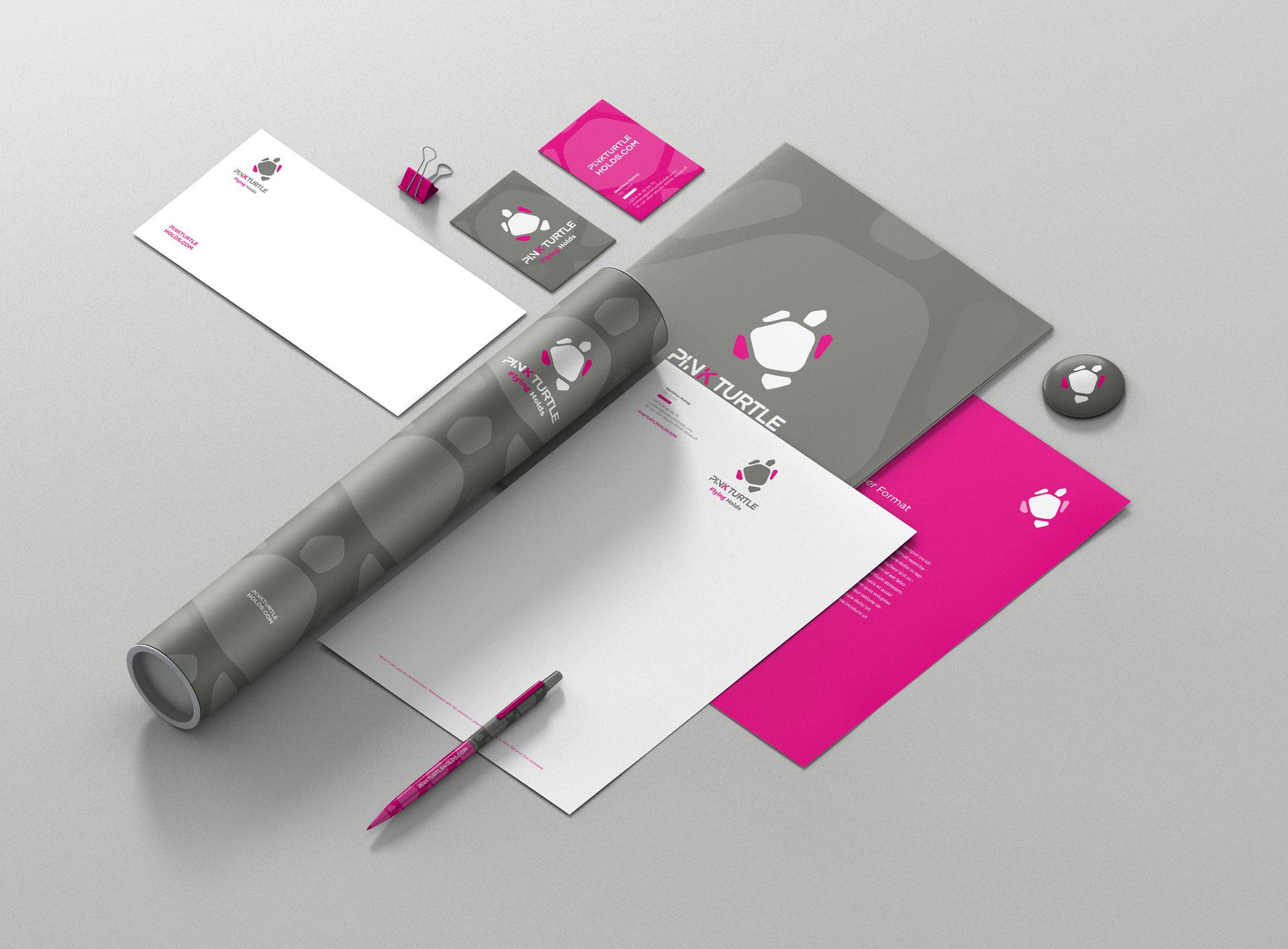 Papéterie Pink Turtle-Cmondada Design