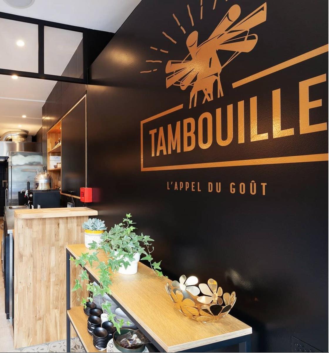 Sticker mural-Tambouille-restaurant-Cmondada-Design