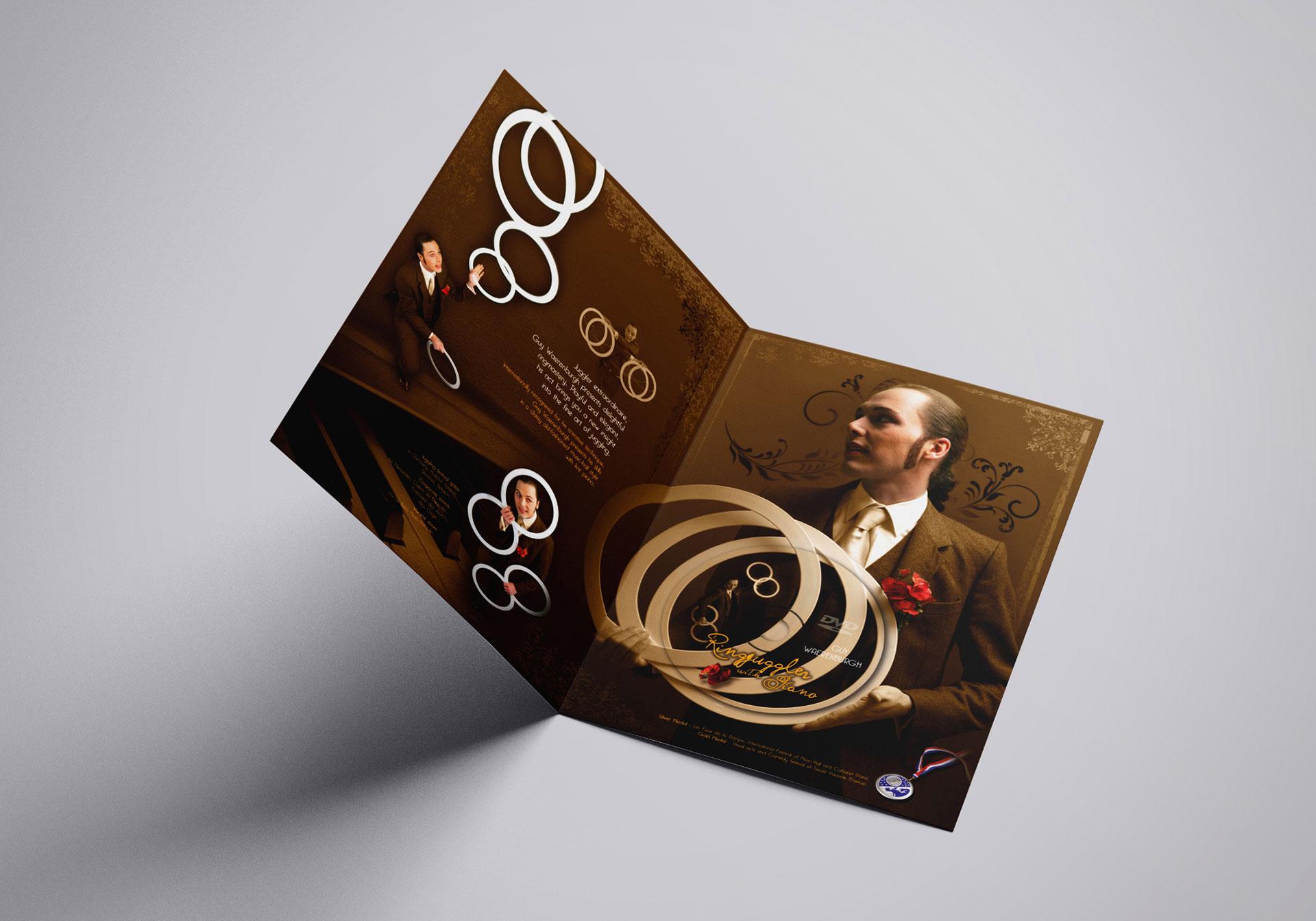 Plaquette intérieur Ring juggler with piano-Cmondada Design