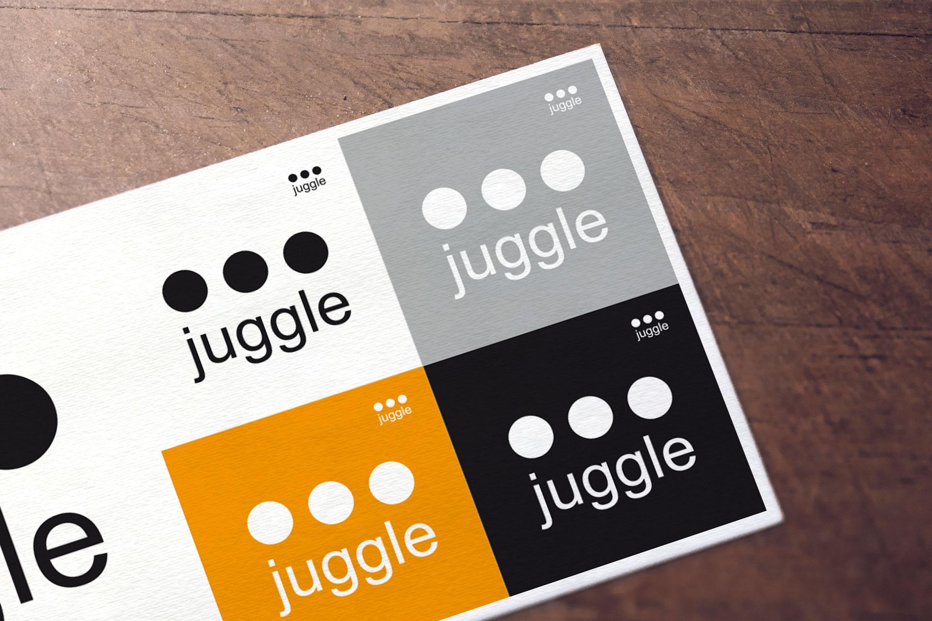 Logotype juggle - Cmondada Design