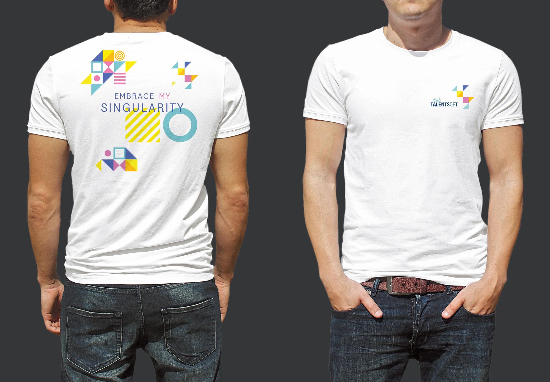 T-shirt Club Talentsoft - Cmondada Design
