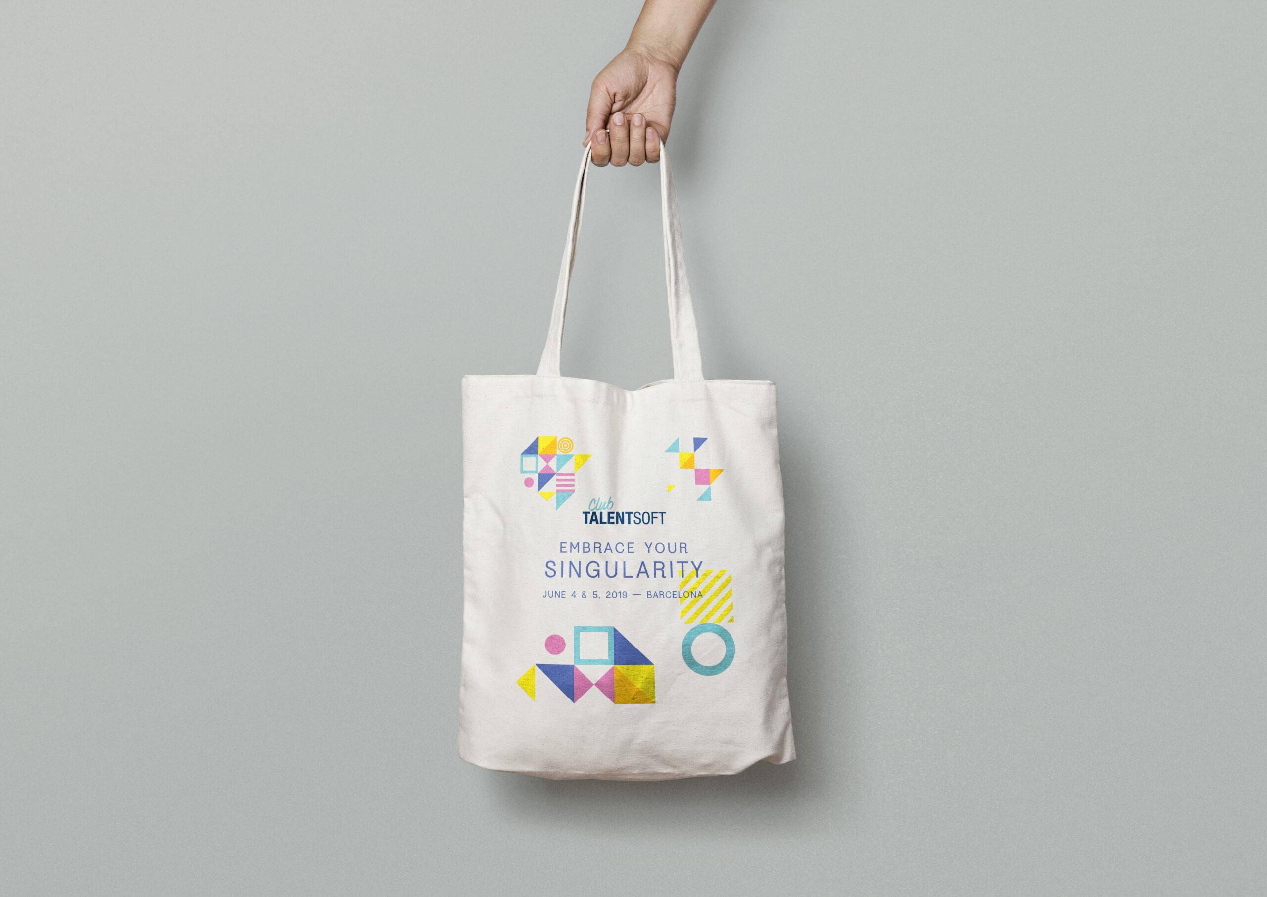 Totebag Club Talentsoft - Cmondada Design