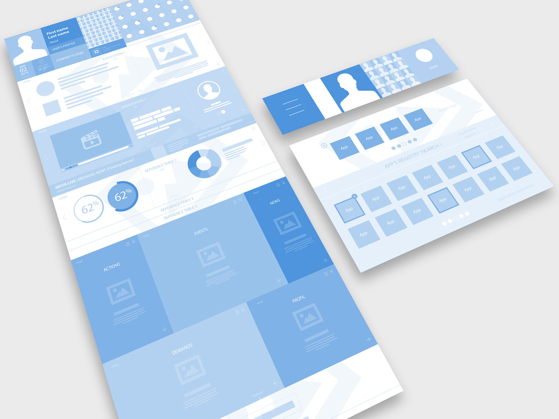 Wireframe Hello Talent by Talentsoft