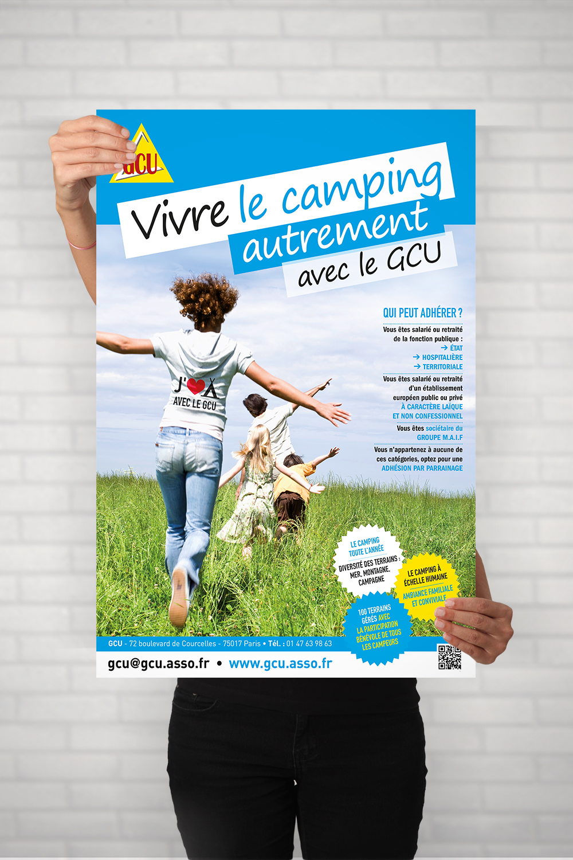 Affiche - GCU - Cmondada Design
