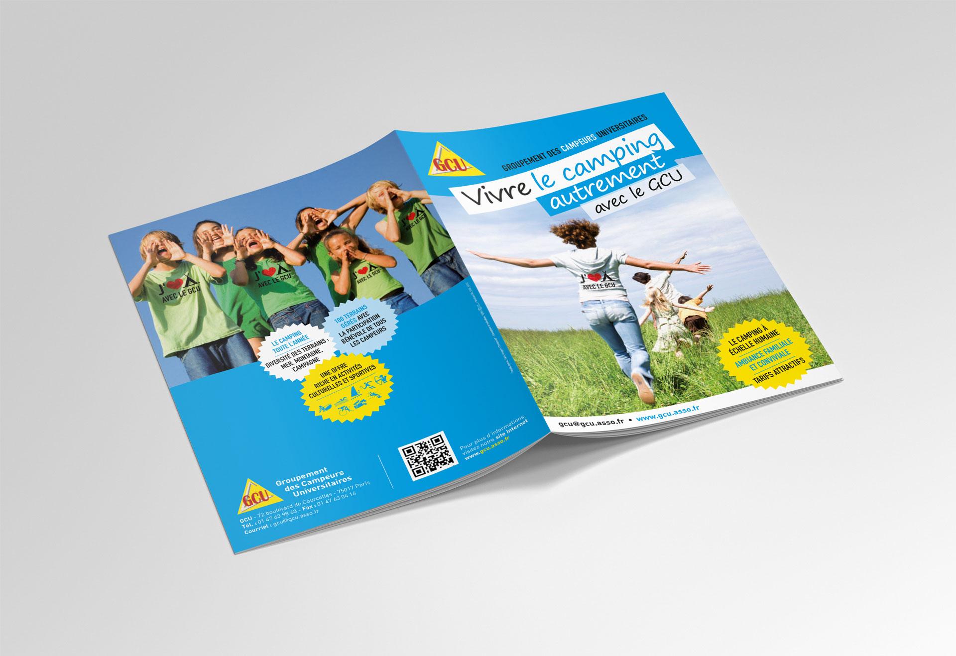 Brochure extérieur - GCU - Cmondada Design