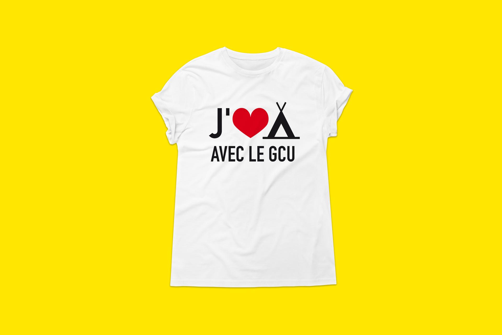 T-shirt GCU - Cmondada Design